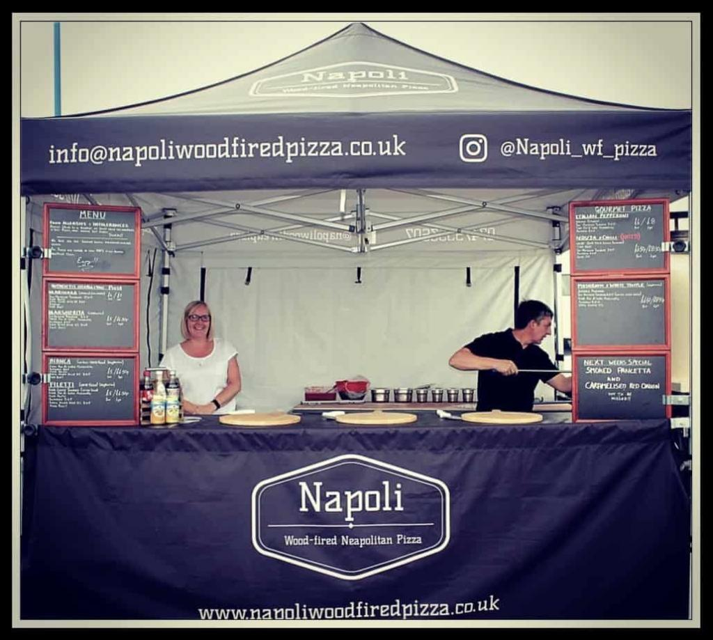 Mobile Wood Fired Pizza Takeaway Shop Now In Hartlepool